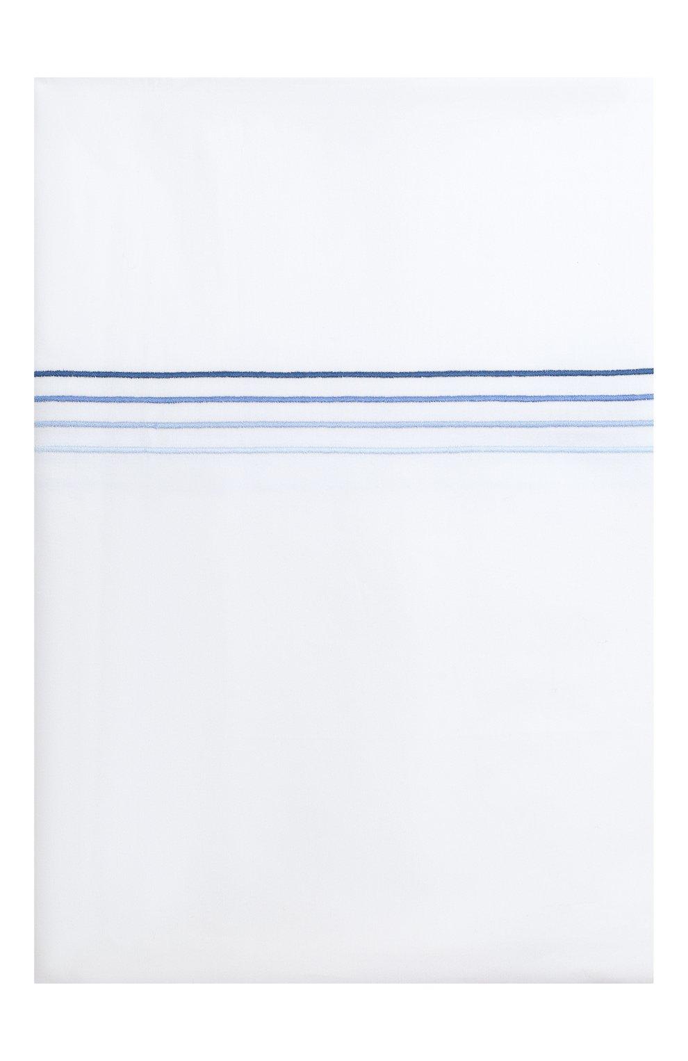 Мужского хлопковый пододеяльник FRETTE синего цвета, арт. F07092 E3600 200A | Фото 3
