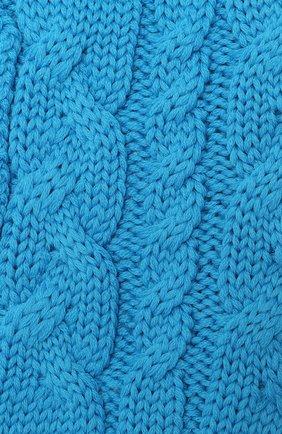 Детский шерстяной шарф CATYA голубого цвета, арт. 024772 | Фото 2