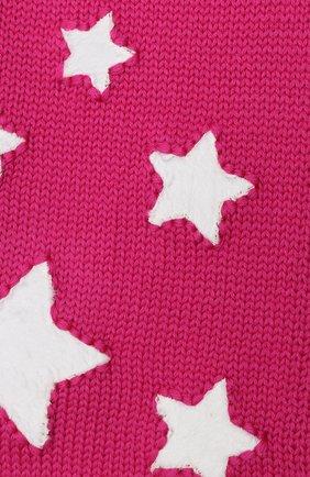 Детский шерстяной шарф CATYA фуксия цвета, арт. 024762 | Фото 2