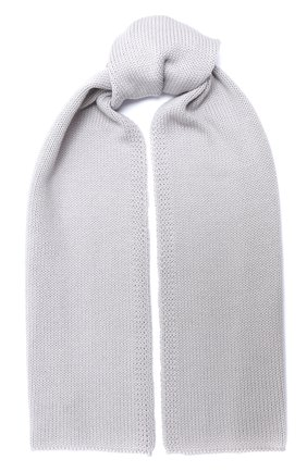 Детский шерстяной шарф CATYA серого цвета, арт. 024759 | Фото 1