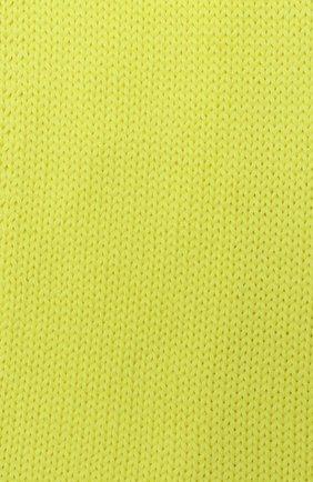 Детский шерстяной шарф CATYA желтого цвета, арт. 024759 | Фото 2