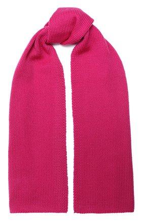 Детский шерстяной шарф CATYA фуксия цвета, арт. 024759 | Фото 1