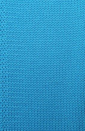 Детский шерстяной шарф CATYA голубого цвета, арт. 024759 | Фото 2