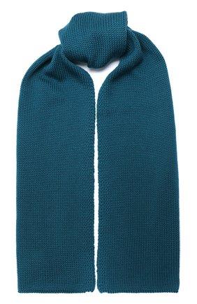 Детский шерстяной шарф CATYA зеленого цвета, арт. 024759 | Фото 1