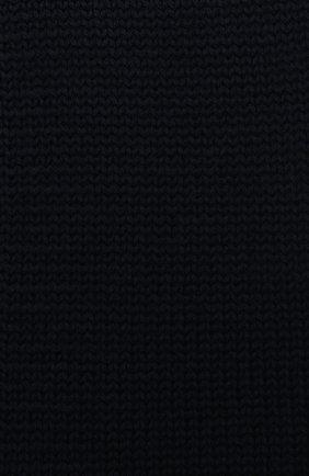Детский шерстяной шарф CATYA темно-синего цвета, арт. 024759 | Фото 2