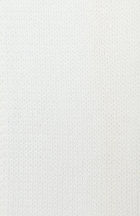 Детский шерстяной шарф CATYA белого цвета, арт. 024759 | Фото 2