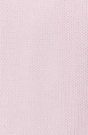 Детский шерстяной шарф CATYA розового цвета, арт. 024759 | Фото 2