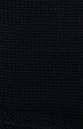 Детский шерстяной шарф-снуд CATYA темно-синего цвета, арт. 024756 | Фото 2