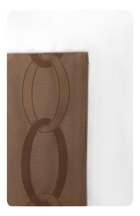 Мужского хлопковая наволочка FRETTE коричневого цвета, арт. FR6592 E0700 030B | Фото 1