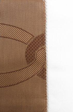 Мужского хлопковая наволочка FRETTE коричневого цвета, арт. FR6592 E0700 030B | Фото 2