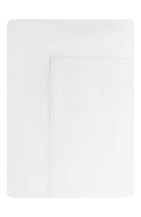 Мужского хлопковая наволочка FRETTE белого цвета, арт. FR6592 E0700 030B | Фото 1