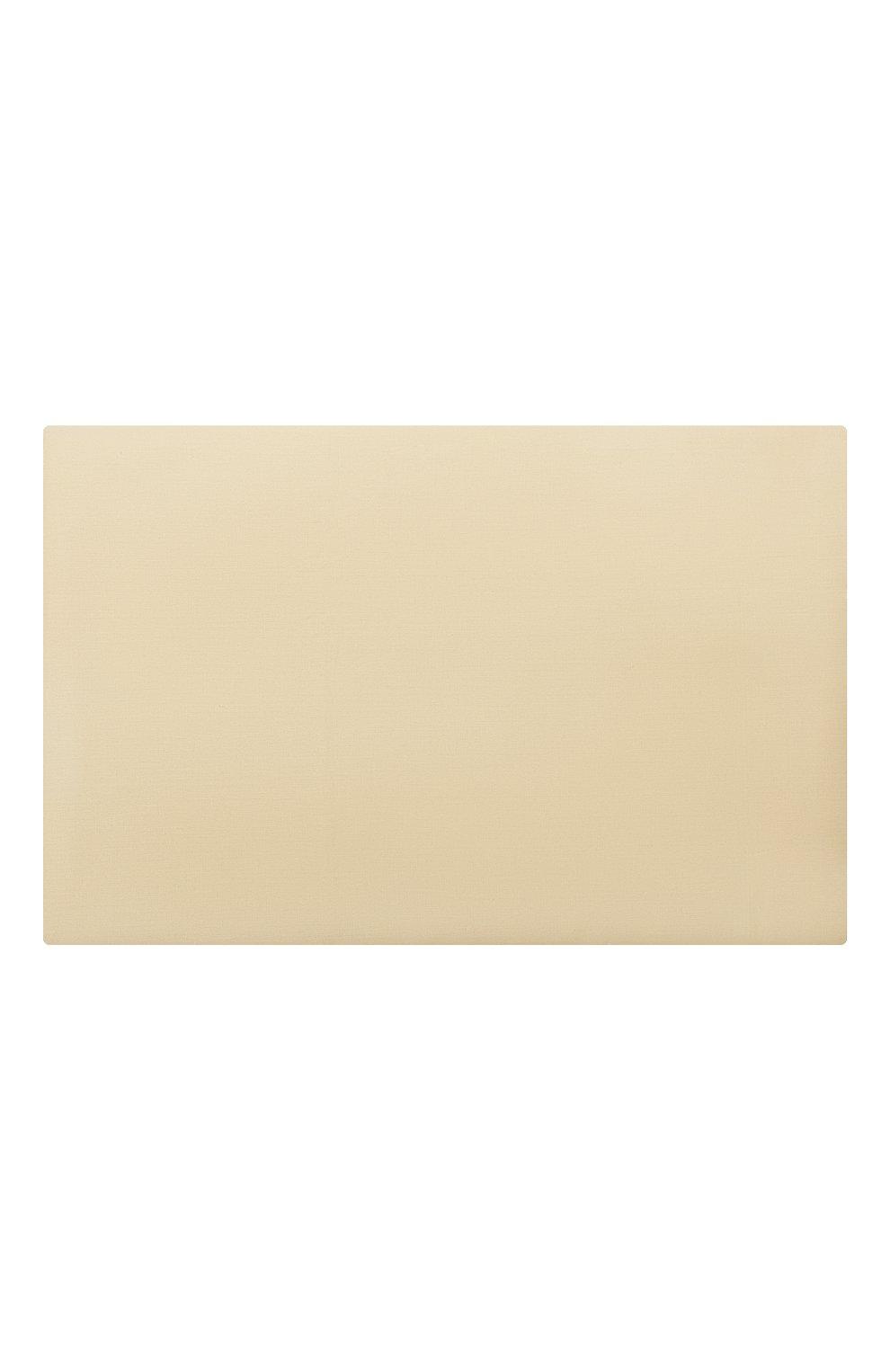 Мужского хлопковая простынь FRETTE желтого цвета, арт. FR0000 E0400 270G | Фото 2
