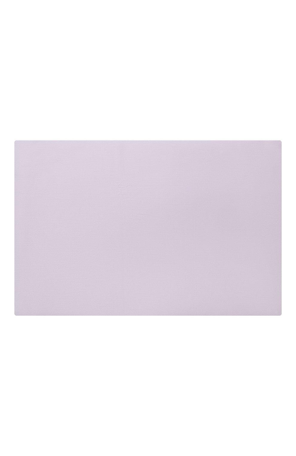 Мужского хлопковая простынь FRETTE сиреневого цвета, арт. FR0000 E0400 270G   Фото 2