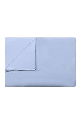 Мужского хлопковая простынь FRETTE голубого цвета, арт. FR0000 E0400 270I | Фото 1
