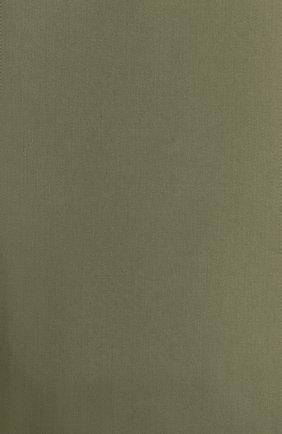 Мужского хлопковая простынь FRETTE зеленого цвета, арт. FR0000 E0400 270I | Фото 3