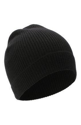 Мужская кашемировая шапка RICK OWENS черного цвета, арт. RU20F3495/RIBWS | Фото 1