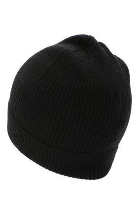 Мужская кашемировая шапка RICK OWENS черного цвета, арт. RU20F3495/RIBWS | Фото 2