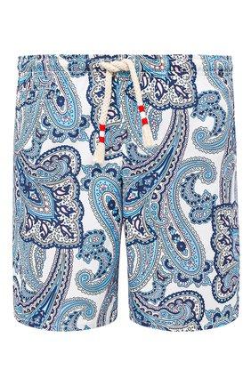 Детского плавки-шорты MC2 SAINT BARTH голубого цвета, арт. STBM CAPRESE L/CAP0002 | Фото 1