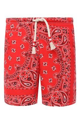 Детского плавки-шорты MC2 SAINT BARTH красного цвета, арт. STBM CAPRESE L/CAP0002 | Фото 1