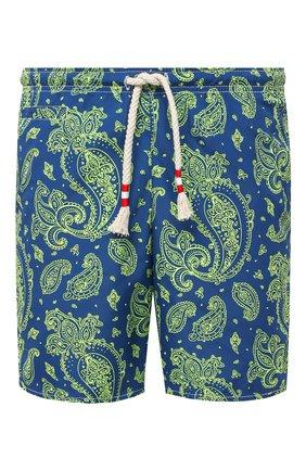Детского плавки-шорты MC2 SAINT BARTH темно-синего цвета, арт. STBM CAPRESE L/CAP0002 | Фото 1