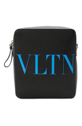 Мужская кожаная сумка valentino garavani VALENTINO черного цвета, арт. UY2B0942/FQK | Фото 1