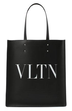 Мужская кожаная сумка valentino garavani VALENTINO черного цвета, арт. UY2B0731/WJW | Фото 1