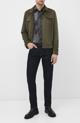 Мужская рубашка TOM FORD хаки цвета, арт. 7FT925/94VSEG | Фото 2