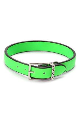 Мужской кожаный браслет valentino garavani VALENTINO зеленого цвета, арт. TY0J0M65/CFW | Фото 2