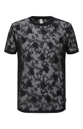 Мужская футболка MOSCHINO черного цвета, арт. A1923/8102 | Фото 1