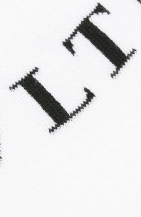 Мужские хлопковые носки VALENTINO черно-белого цвета, арт. UV3KI00L52M | Фото 2