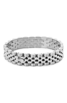 Мужской браслет BAPE серебряного цвета, арт. 1G20182023 | Фото 1