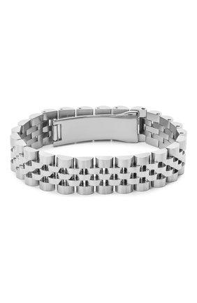 Мужской браслет BAPE серебряного цвета, арт. 1G20182023 | Фото 2