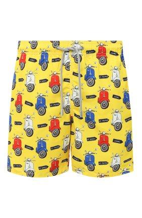 Детского плавки-шорты MC2 SAINT BARTH желтого цвета, арт. STBM GUSTAVIA/GUS0001 | Фото 1
