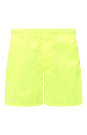 Детского плавки-шорты  VALENTINO желтого цвета, арт. UV3UHA106GJ | Фото 1