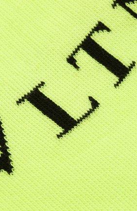 Мужские хлопковые носки VALENTINO желтого цвета, арт. UV3KI00T6NG | Фото 2