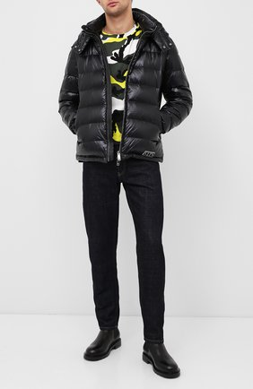 Мужская пуховик VALENTINO черного цвета, арт. UV3CNA31VTD | Фото 2