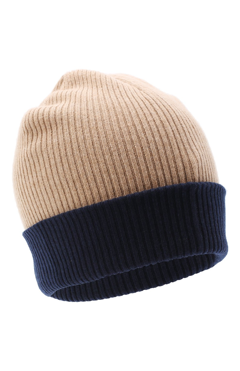 Мужская кашемировая шапка BRUNELLO CUCINELLI бежевого цвета, арт. M2293600 | Фото 1