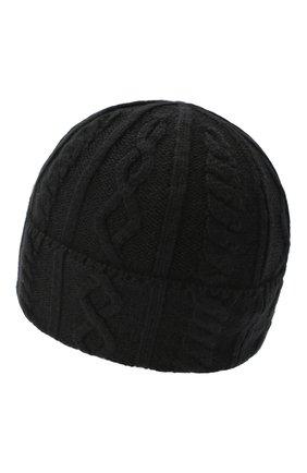 Мужская кашемировая шапка BRUNELLO CUCINELLI черного цвета, арт. M2294030 | Фото 2