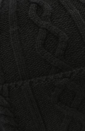 Мужская кашемировая шапка BRUNELLO CUCINELLI черного цвета, арт. M2294030 | Фото 3