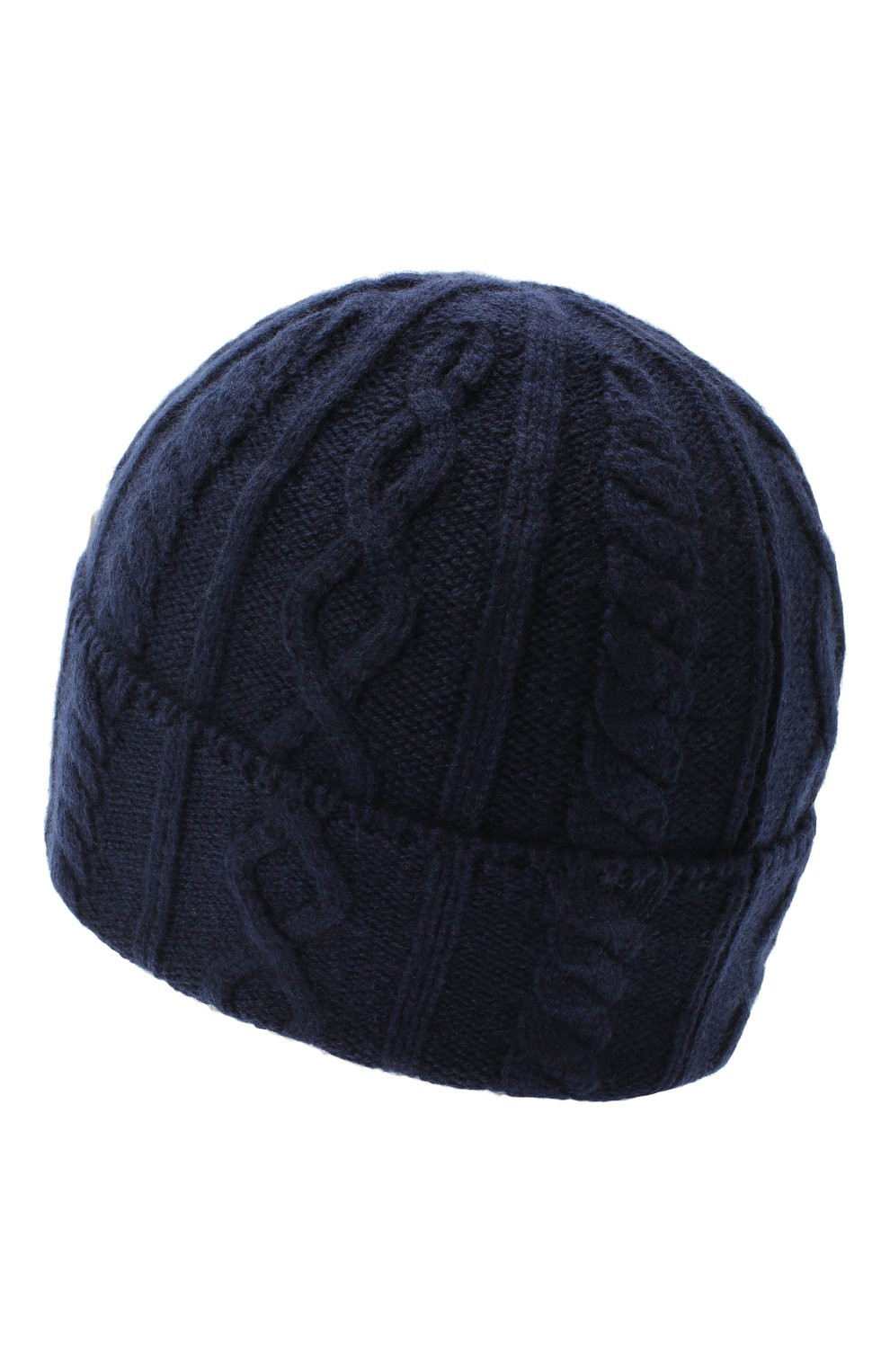 Мужская кашемировая шапка BRUNELLO CUCINELLI синего цвета, арт. M2294030 | Фото 2