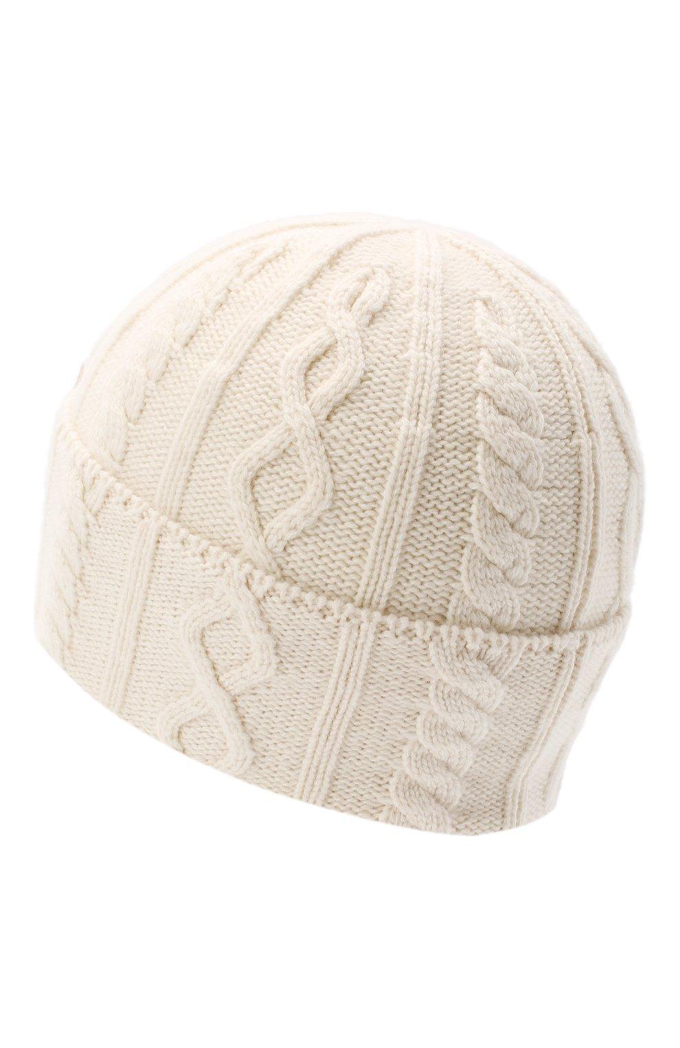 Мужская кашемировая шапка BRUNELLO CUCINELLI бежевого цвета, арт. M2294030 | Фото 2