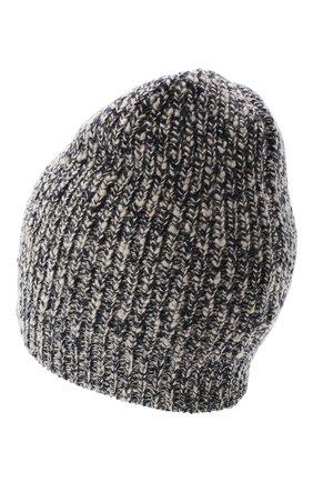 Мужская шапка из шерсти и кашемира BRUNELLO CUCINELLI темно-синего цвета, арт. M2657080 | Фото 2