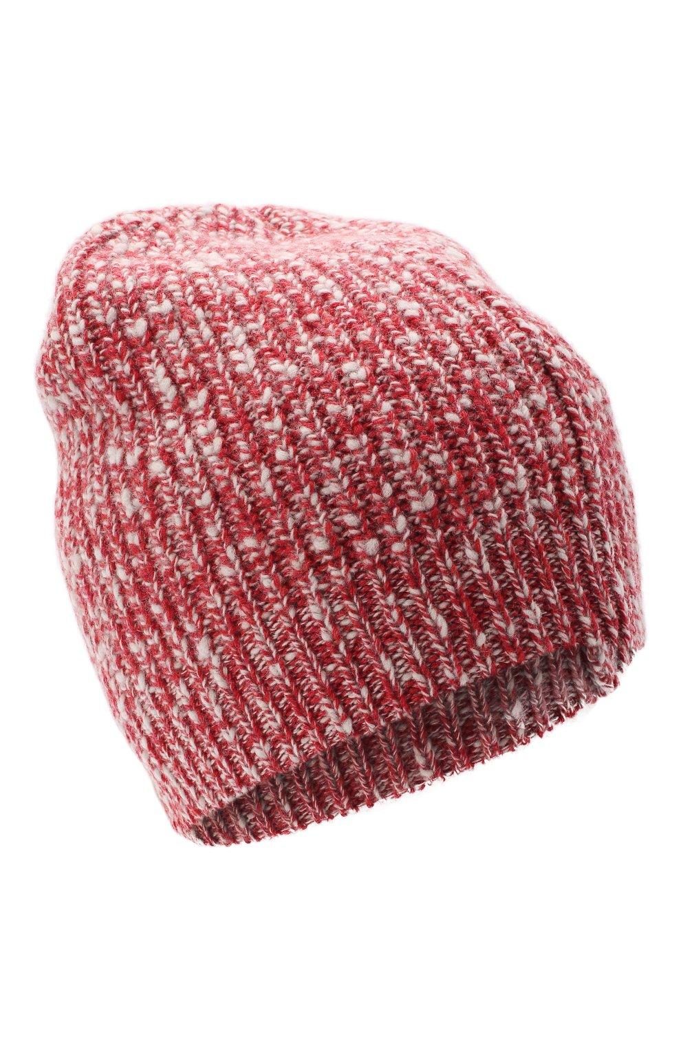 Мужская шапка из шерсти и кашемира BRUNELLO CUCINELLI красного цвета, арт. M2657080   Фото 1