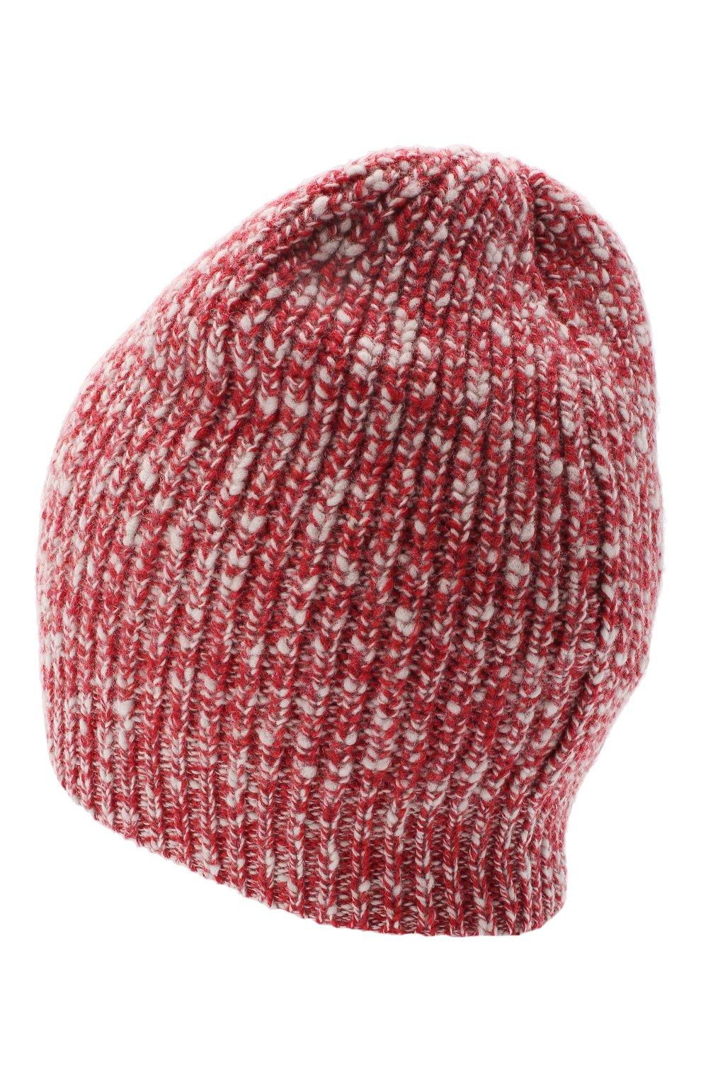 Мужская шапка из шерсти и кашемира BRUNELLO CUCINELLI красного цвета, арт. M2657080   Фото 2