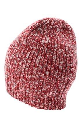 Мужская шапка из шерсти и кашемира BRUNELLO CUCINELLI красного цвета, арт. M2657080 | Фото 2