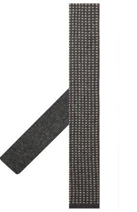 Мужской кашемировый галстук BRUNELLO CUCINELLI темно-серого цвета, арт. ML8920018 | Фото 2