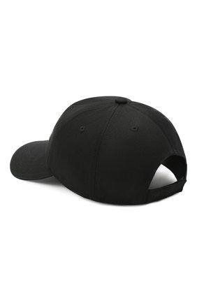 Мужской хлопковая бейсболка VETEMENTS черного цвета, арт. UAH21CA268 1000/M   Фото 2