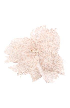 брошь pion FLOWER ME бежевого цвета, арт. PION-NS023005L | Фото 2