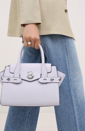 Женская сумка carmen MICHAEL MICHAEL KORS сиреневого цвета, арт. 30S0SNMS0L | Фото 2