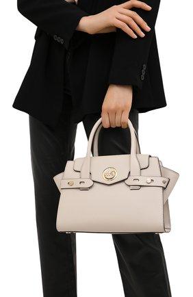 Женская сумка carmen small MICHAEL MICHAEL KORS бежевого цвета, арт. 30S0GNMS1L | Фото 2